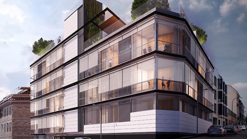 arquitectura, arquitecto, diseño, design, Bueso-Inchausti & Rein Arquitectos, Madrid, España, 2019, calle Plaza, arquitectura residencial, viviendas, plurifamiliar