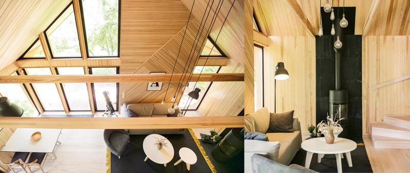 arquitectura, arquitecto, diseño, design, Zrobym Architects, Bielorrusia, casa de verano, vivienda, minimalismo, estilo escandinavo, madera, calidez, Raubich, diseño nórdico