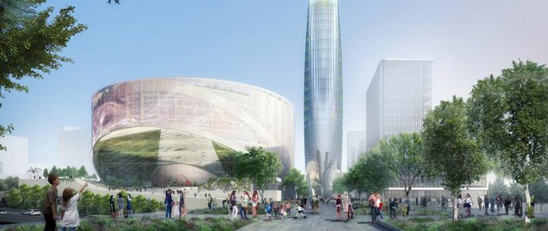 SOM, arquitectura, arquitecto, diseño, design, sostenible, sostenibilidad, complejo residencial, París, Francia, Skidmore, Owings y Merrill, Bouygues Immoblier UrbanEra, viviendas sociales, arquitectura sostenible