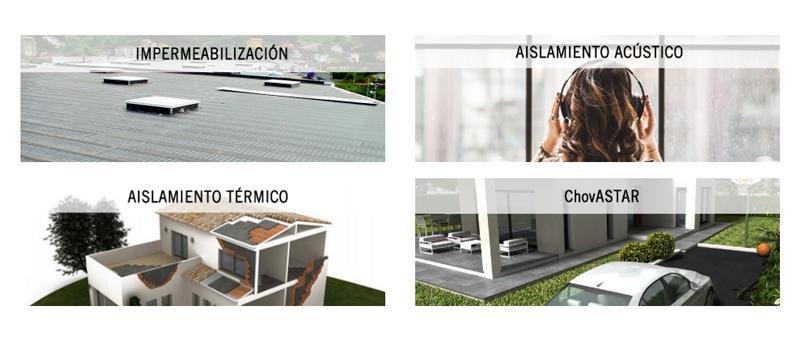 arquitectura, arquitecto, diseño, design, asesoramiento, servicio, ChovA, asistencia, aislamiento, impermeabilización, PTI