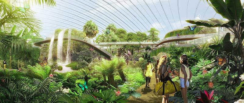 arquitectura, arquitecto, design, diseño, invernadero, tropical, Tropicalia, OCTAV TIRZIU ATELIER, Coldefy & Associés, Francia, vegetación, naturaleza