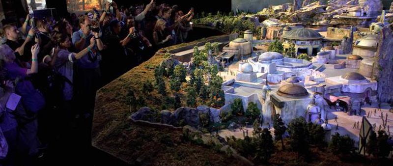 arquitectura, arquitecto, diseño, design, Disney, parque temático, Star Wars