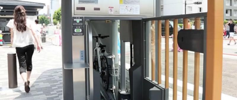 arquitectura, arquitecto, diseño, design, bicicleta, parking, aparcamiento, subterráneo, Giken, Japón, vehículo, sostenible, sostenibilidad, automático, automatizado, sismo resistente, ECO Cycle