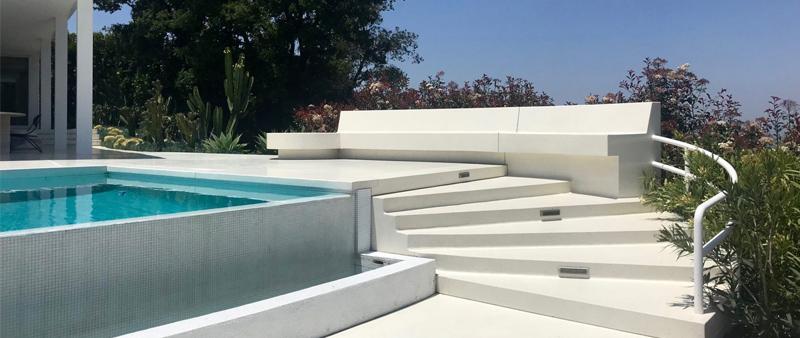 arquitectura, arquitecto, diseño, design, Gerhard Heusch, Heusch Inc., arquitectura moderna, EEUU, Los Angeles, Santa Mónica, vivienda, casa, residencia privada, piscina, verano