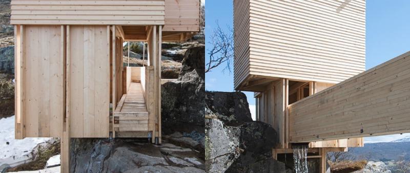 arquitectura, arquitecto, diseño, design, Noruega, sauna, naturaleza, montaña, rio, estudiantes arquitectura, NTNU, internacional, proyecto colaboración, madera, Eldmølla, Universidad Noruega de Ciencia y Tecnología