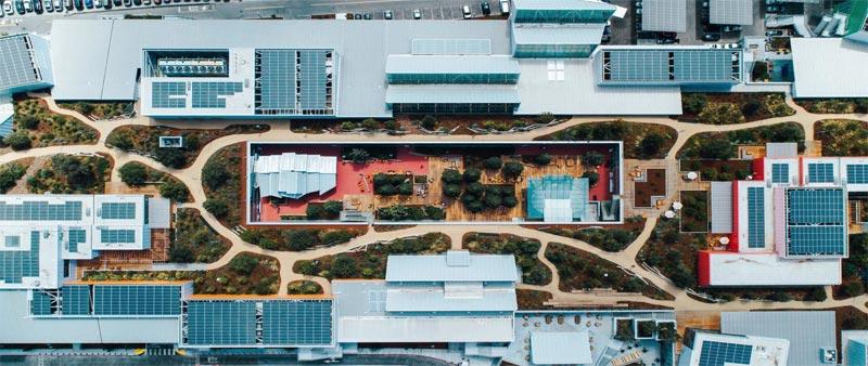 arquitectura, arquitecto, diseño, design, Frank Gehry, Facebook, sede, oficinas, Silicon Valley, espacios de trabajo, California, arquitectura sostenible
