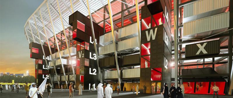 Fenwick Iribarren Architects, arquitectura, arquitecto, diseño, design, mundial, futbol, estadio, arquitecturadeportiva