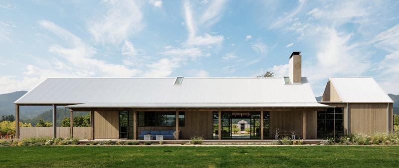 arquitectura, arquitecto, diseño, design, Field Architecture, Joe Fletcher, casa, vivienda, Zinfandel, viñedos, rural, campo, EEUU, Valle de Napa