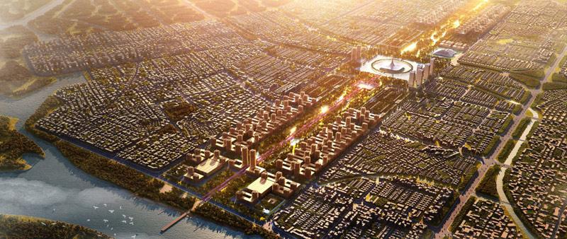 arquitectura, arquitecto, diseño, design, diseñador, Foster + Partners, India, sostenible, ciudad, urbanismo, verde, arquitectura y empresa, Amaravati, Andhra Pradesh