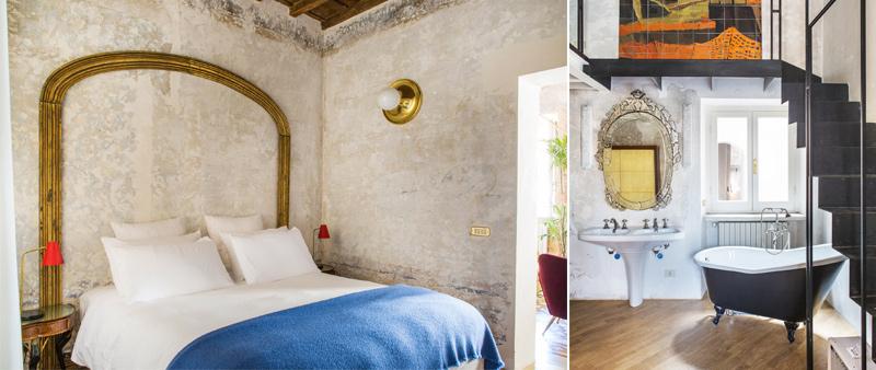 arquitectura, arquitecto, diseño, design, hotel, Gabriele Salini, Roma, boutique hotel, Piazza Navona, Serena Eller, G-Rough