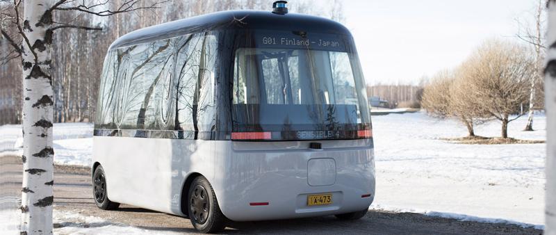 arquitectura, arquitecto, diseño, design, MUJI, Sensible 4, autobús, bus, aotónomo, sin conductor, transporte público, diseño minimalista, minimal, Gacha