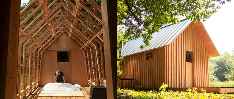 arquitectura, arquitecto, diseño, design, vivienda, jardín, casa jardín, Garden House, Caspar Schols, madera, vidrio, Eindhove, Paises Bajos, Jorrit 't Hoen