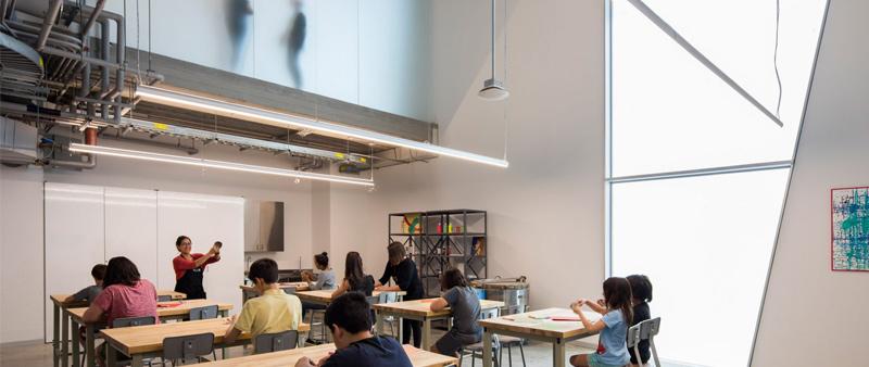 arquitectura, arquitectl, diseño, design, Steven Holl Architects, EEUU, Estados Unidos, Museo, Escuela de arte Glassel, Houston, hormigón, vidrio