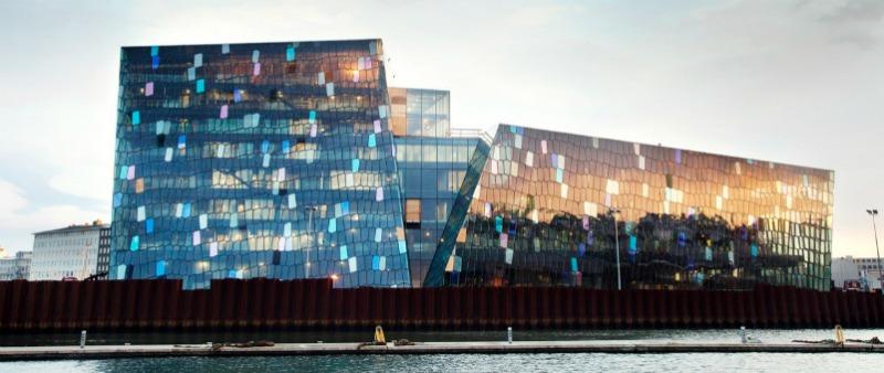 arquitectura, arquitecto, diseño, design, HARPA,  Henning Larsen Architects, Batteriid Architects, sala de conciertos,  centro de conferencias, Reikiavik, Islandia, espacio público, grandes proyectos, grandes despachos