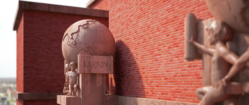 arquitectura, arquitecto, diseño, design, Frank Lloyd  Wright, David Romero, Isostopy, realidad virtual, 150 aniversario, tour virtual, Larkin Administration Building