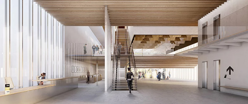 arquitectura, arquitecto, diseño, design, Kengo Kuma & Associates, L'Autre Image, Saint-Malo, Francia, Museo de Historia Marítima