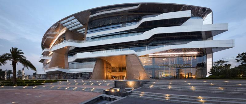 arquitectura, arquitecto, diseño, design, UNStudio, China, club marítimo, costa, yate, Keppel Cove Marina and Clubhouse, Zhongshan, Rio Xi, Tom Roe