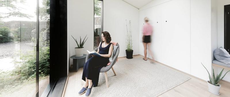 arquitectura, arquitecto, diseño, design, residencial, vivienda, casa, mini vivienda, micro vivienda, diseño escandinavo, minimalismo, minimal, cabina, airelibre, prefabricado, casa prefabricada, KOTO Design
