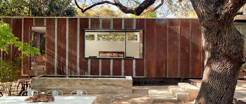 arquitectura, arquitecto, diseño, design, Nick Deaver Architects, Casey Dunn, Donald Judd, EEUU, Texas, Austin, vivienda, unifamiliar, ampliación, sostenible, sostenibilidad, arquitectura y empresa, proyecto LeanToo