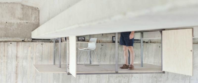 arquitectura, arquitecto, diseño, design, diseñador, Valencia, Fernando Abellanas, Lebrel Furniture, Jose Manuel Pedrajas, minimalismo, minimal, micro-vivienda, urbano, urban, casa, estudio, industrial