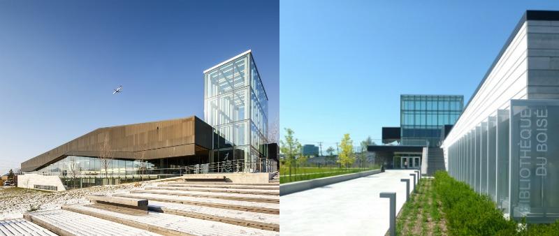 arquitectura, arquitecto, diseño, design, biblioteca, Canadá, LEMAY, Montreal,  Montreal's Bibliothèque du Boisé, Doublespace Photography, YienChaoHR, sostenible, sostenibilidad, bioarquitectura
