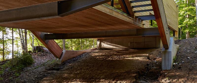 arquitectura, arquitecto, diseño, design, casa, madera, vivienda, Ontario, Canadá, Llama Urban Design, Ben Rahn, A-Frame studio