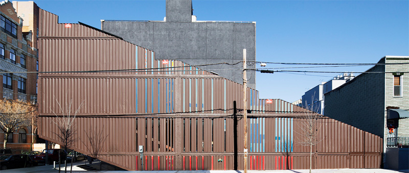 arquitectura, arquitecto, diseño, design, contenedor, vivienda, residencial, proyecto, casa, unifamiliar, LOT-EK, Carroll House , Brooklyn, Nueva York, Estados Unidos, sostenible, sostenibilidad, contenedores marítimos