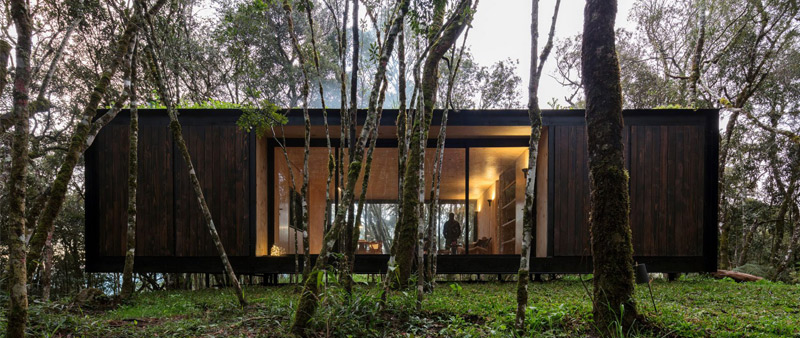 arquitectura, arquitecto, diseño, design, prefabricado, vivienda, casa, residencia, Brasil, bosque, naturaleza,  Minimod, MAPA Architects, valle de Curcaca
