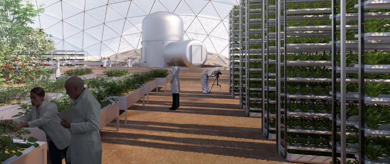 arquitectura, arquitecto, diseño, design, diseñador, BIG, Mars Science City, impresión 3D, Gobierno de Los Emiratos Árabes, Dubái, Marte, ciudad, experimental, proyecto, colonización