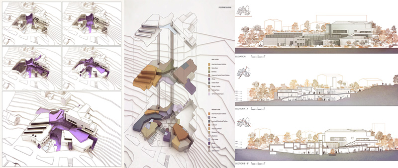 arquitectura, arquitecto, diseño, design, Alvar Aalto, Matteo Cainer Architects, Finlandia, museo, proyecto, concurso, Alvar Aalto Time Lapse