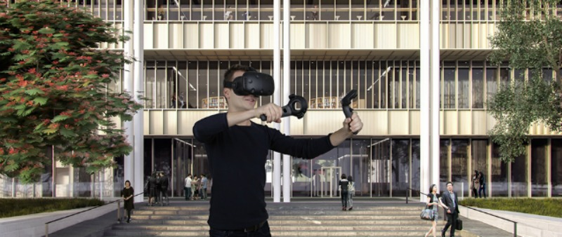 arquitectura, arquitecto, diseño, design, realidad virtual, 3D, realidad aumentada, Mecanoo Architecten , ArchiSpace, render, presentación proyectos, proyectos, Holanda