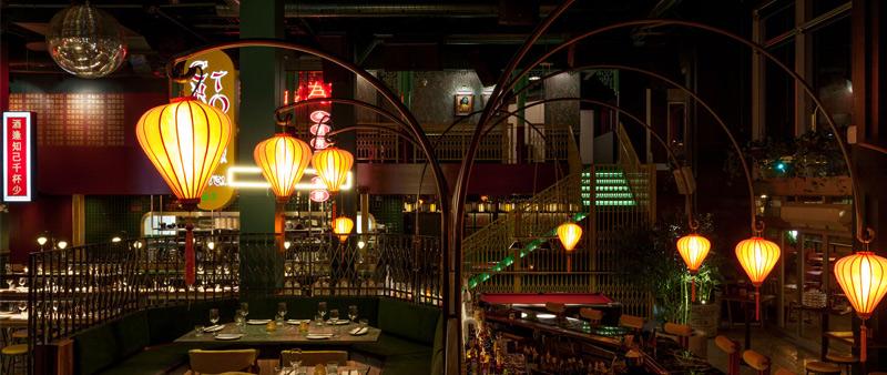 arquitectura, arquitecto, diseño, design, restaurante chino, Chinatown, Montreal, Canadá, Laval, Miss Wong, Ménard Dworkind, David Dworkind, Guillaume Ménard, díselo interior, interiormismo