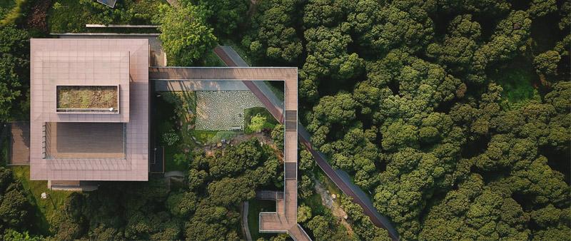 arquitectura, arquitecto, diseño, design, MLA+, biblioteca, Biblioteca Científica Xiangmi, Vlad Feoktistov, parque, espacio verde, China