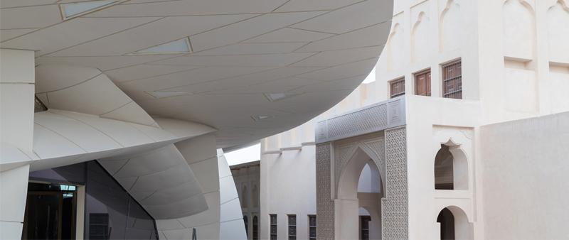 arquitectura, arquitecto, diseño, design, Iwan Baan, Museo Nacional de Qatar, Jean Nouvel, Michel Desvignes, rosa del desierto, museo, historia, bahía de Doha