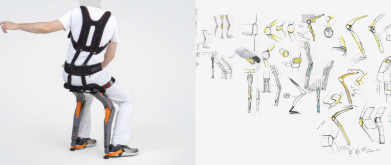 arquitectura, arquitecto, diseño, design, tecnología, Studio Sapetti, Noonee, ergonomía, puesto de trabajo, Chairless Chair, sector automovilístico, fábrica, Marc Sapetti
