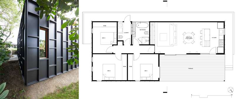 arquitectura, arquitecto, diseño, design, minimalisma, sostenible, sostenibilidad, arquitectura residencial, casa, vivienda, unifamiliar, Ryan Jellyman, Studio Jackson Scott, Australia, OCM House, zero waste