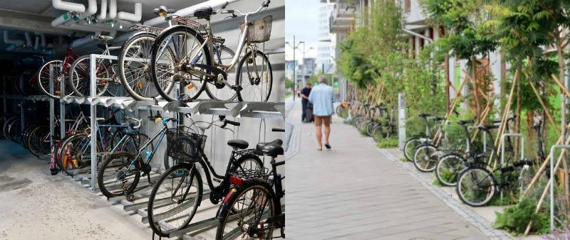 arquitectura, arquitecto, diseño, design, Suecia, Cykelehuset Ohboy!, Hauschild + Siegel, Ohboy! Hotel Bike, bicicleta, arquitectura verde, sostenible, sostenibilidad, Malmö, residencial, vivienda, apartamento