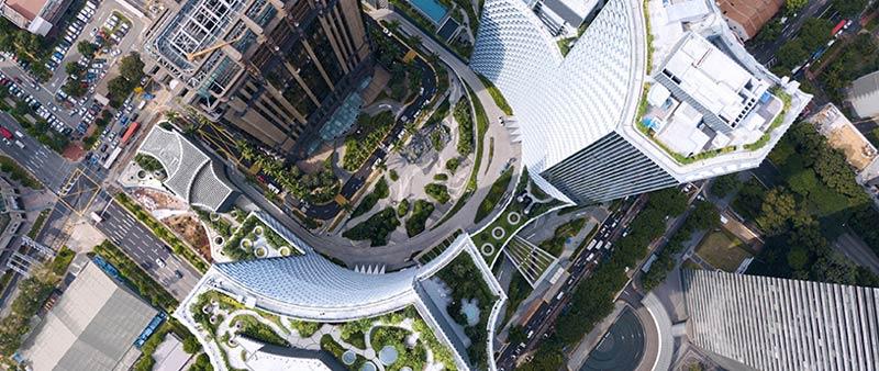 arquitectura, arquitecto, diseño, design, arquitectura y empresa, Ole Scheeren, Singapur, Asia, torre, Duo, residencial, hotel, oficinas
