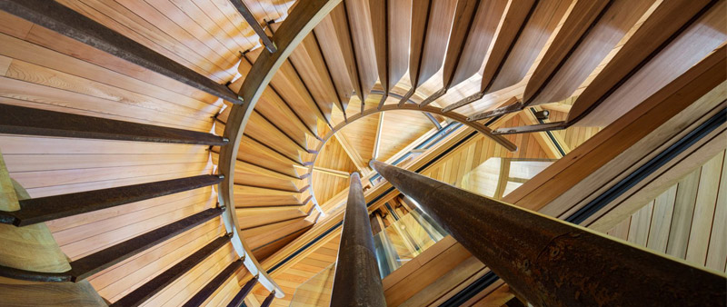 arquitectura, arquitecto, design, diseño, diseñador, Malan Vorster Architects, casa en el árbol, Paarman Treehouse, madera, pilotes, vivienda elevada, Ciudad del Cabo, Africa