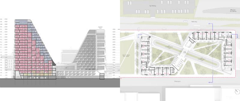 arquitectura, arquitecto, diseño, design, Peter Pichler Architecture, torres, rascacielos, proyecto residencial,  Maarssen, Ámsterdam, Países Bajos, Italia, Milán, Milano
