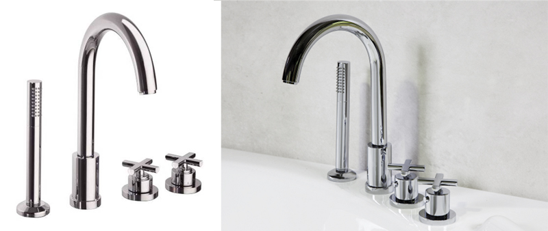 arquitectura, arquitecto, diseño, design, grifería, grifo, Ramón Soler, Termoestático, RS-Cross, bañera, cuarto de baño, decoración