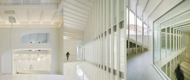 arquitectura, arquitecto, diseño, design, rehabilitación, Barcelona, R+B, Mercè Berengué, Miguel Roldán, Bomberos, central, Poble Sec, parque de bomberos