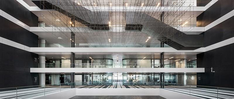 arquitecto, arquitectura, OMA, La Haya, Holanda, Paises Bajos, Delfino Sisto Legnani, Marco Cappelletti, sostenible, sostenibilidad, gubernamental, gobierno, edificio, proyecto,