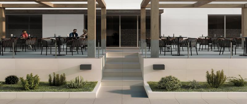 arquitectura, arquitecto, diseño, design, diseñador, Rocersa, pavimento, revestimiento, muro, antideslizante