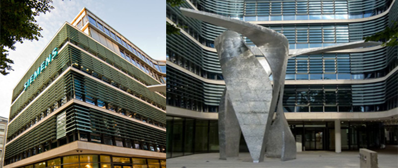 arquitecto, arquitectura, diseño, design, Siemens, Henning Larsen Architects, edificio de oficinas, Munich, Alemania, inteligente, sostenible