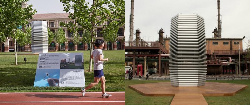 arquitectura, arquitecto, diseño, design, Daan Roosegaarde, STUDIO ROOSEGAARDE, China, Smog Free Project, Bicicletas antipolución, Smog Free Towers, Holanda, Paises Bajos