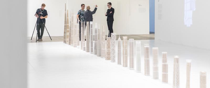 arquitectura, arquitecto, diseño, design, SOM, exposición, exhibición, ingeniería, rascacielos, Fotografía, Laurian Ghinitoiu, estructuras, Chicago Architecture Biennial