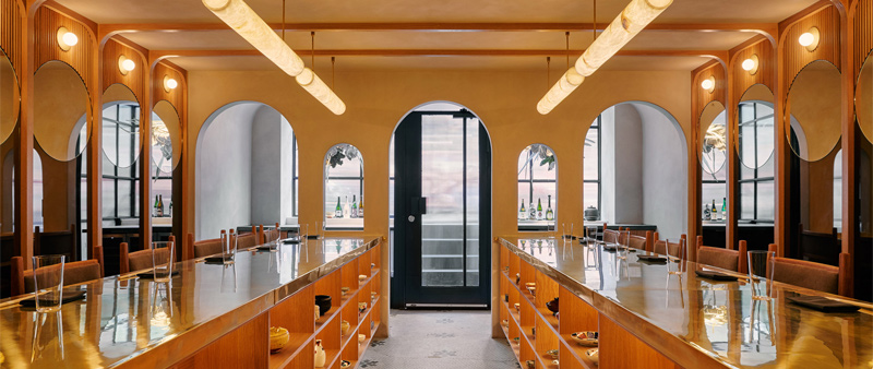 arquitectura, arquitecto, diseño, design, Read McKendree, restaurante, Japón, japonés, cocina Kaiseki, Studio Tack, Restaurante Tsukimi, Nueva York, Manhattan