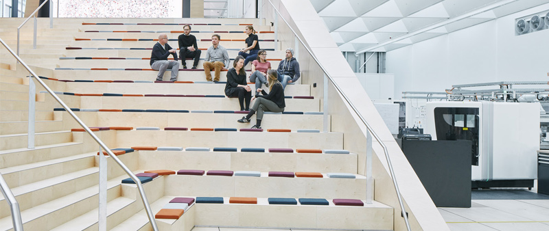 arquitectura y empresa, arquitectura, arquitecto, diseño, design, Swarovski Manufaktur, Snøhetta, fabrica, taller, workshop, Austria, Wattens, David Schreyer