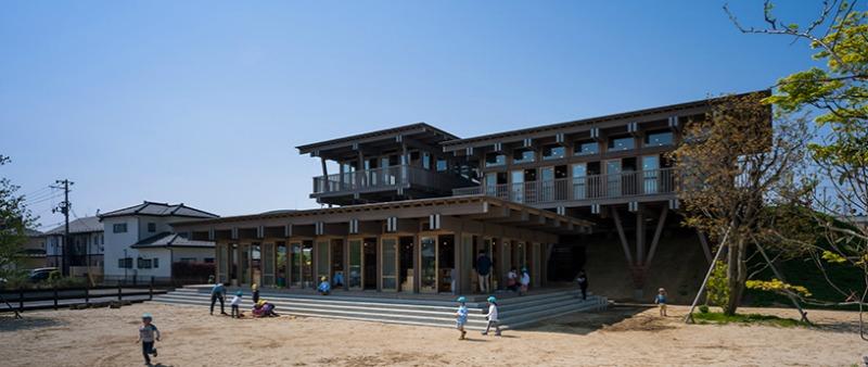arquitectura, arquitecto, diseño, design, guardería, niños, Japón, Katsuhisa Kida, Tezuka Architects, Fototeca, rehabilitación, madera, centro educativo, 2012
